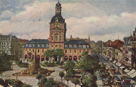 Postkarten Drucken Mannheim by Mannheim Baden W 252 Rttemberg Paradeplatz 2 Zeno Org