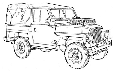 land rover drawing how to draw landrover