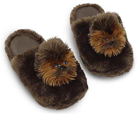 ewok slippers stuff the chewbacca slippers