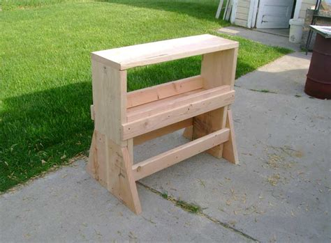 saw horse work bench sawhorse workbench plans project pdf download