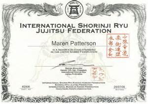 Free Martial Arts Certificate Templates Pics Photos Free Martial Arts Certificates