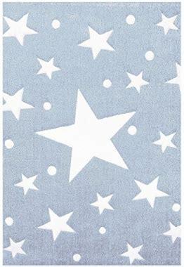 teppich hellblau kinderteppich hellblau sterne nzcen