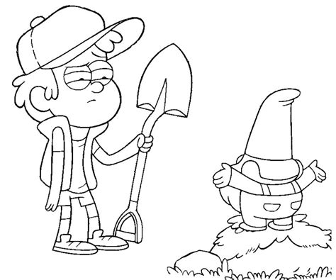 coloring pages gravity falls pacifica from gravity falls free coloring pages
