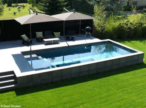 arredamento terrazza terrazza con piscina