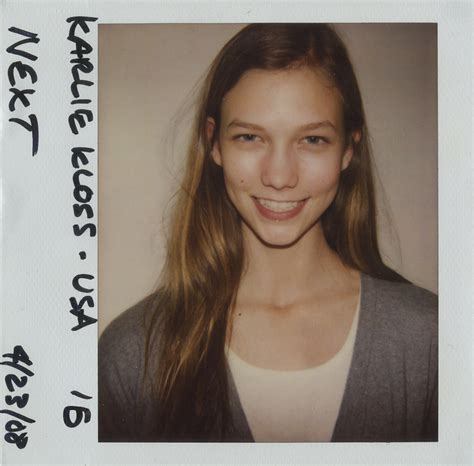 polaroid model lima karlie kloss liu wen and more model vogue