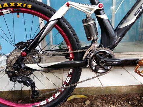 Mtb Fullsus jual sepeda gunung mtb fullsus genius 40 di lapak