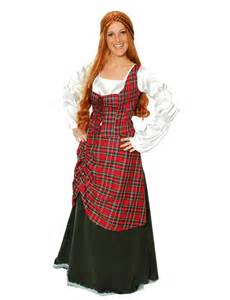 Scottish highlander costume for women highlander costume