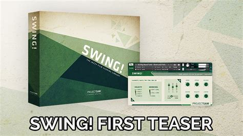 swing first projectsam swing first teaser video youtube
