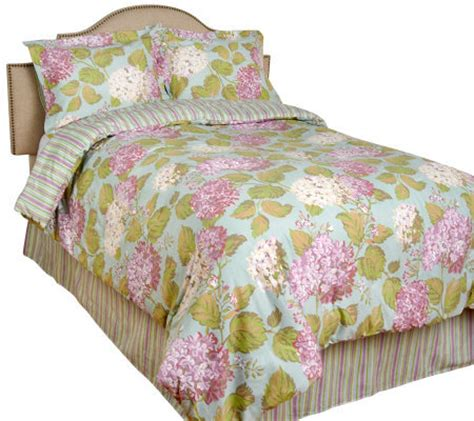 hydrangea comforter 4 pc king size reversible hydrangea comforter set by