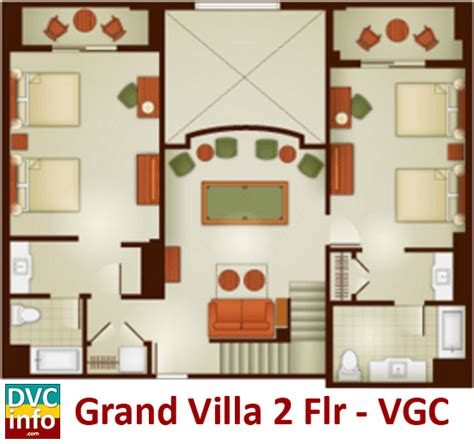 grand californian suites floor plan the villas at disney s grand californian hotel spa dvcinfo