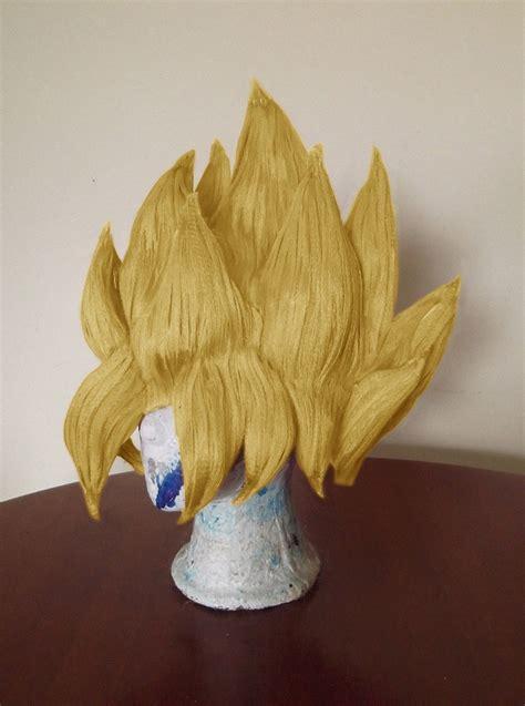 peluca goku disfraz goku dragon ball saiyajin cosplay