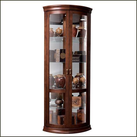 Glass Curio Display Cabinet   Manicinthecity