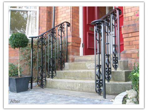 victorian banister victorian door handrail peter weldon iron designs ltd