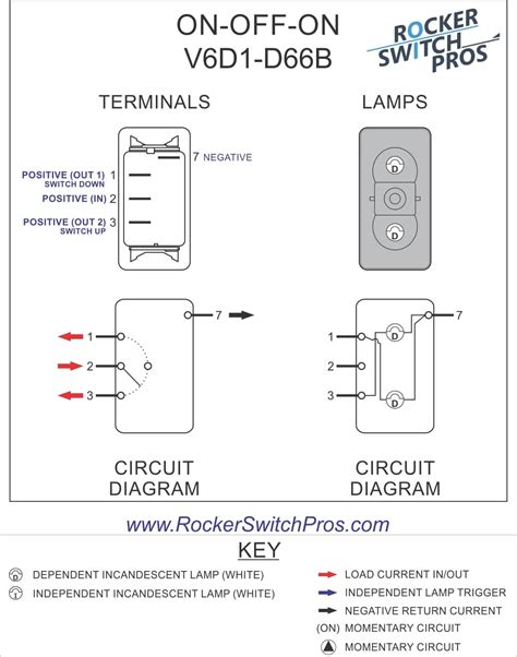 on on rocker switch wiring diagram 3 prong toggle