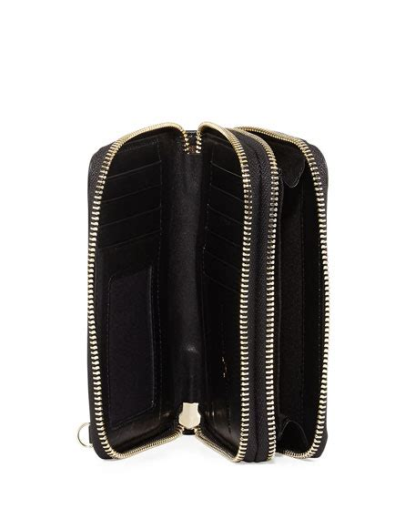 Zip Mini Shoulder Bag heritage mini zip leather shoulder bag black