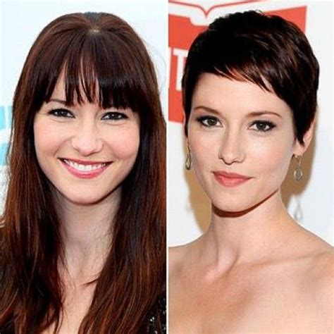 chyler leigh short hairstyles best short pixie haircut for fine 10 best images about chyler leigh supergirl on pinterest