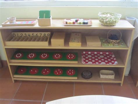 montessori bookshelves 25 best montessori shelves math images on