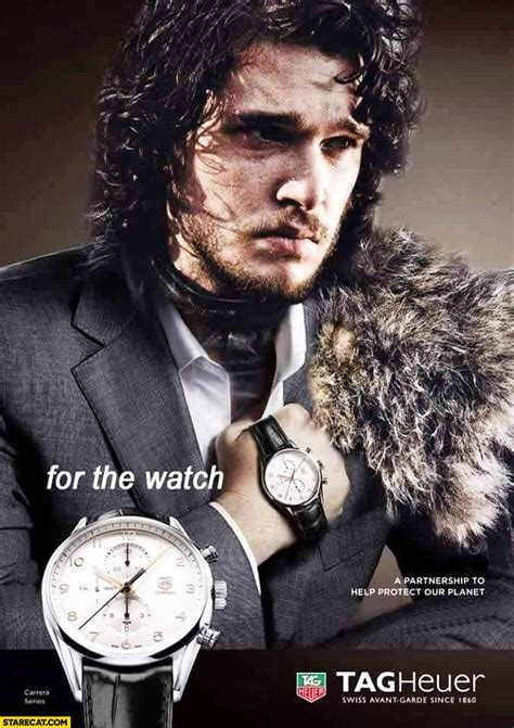 tag heuer ads jon snow for the watch tag heuer ad starecat com