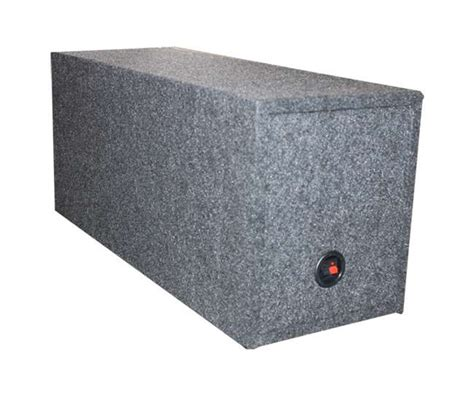 Box Subwoofer 10 Inch q power 10 inch dual sealed subwoofer box enclosure vm10sealed vminnovations