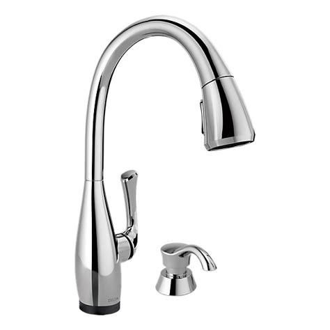 kitchen faucets with touch technology 19940t sd dst single handle pull kitchen faucet