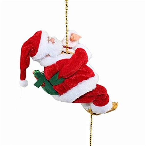 moving santa claus animated decorations