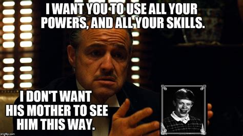 Don Vito Meme - don corleone meets with yearbook photographer imgflip