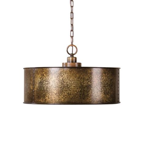 Uttermost Lighting Pendant Uttermost Wolcott 3 Light Pendant