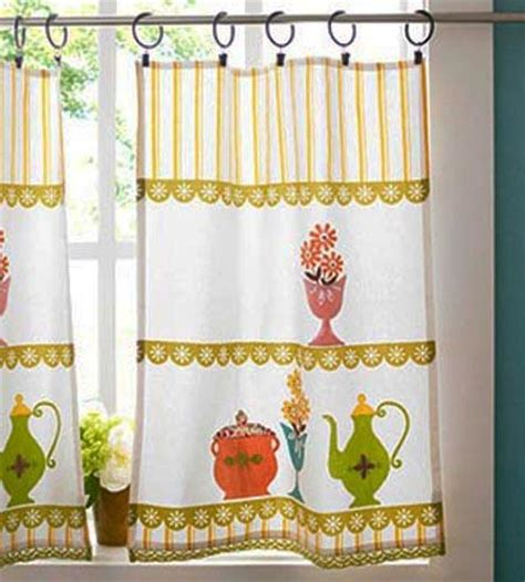 Bright Colorful Kitchen Curtains Inspiration Greatest Window Curtain Fabrics For Cool Eco Friendly Summer Season Decorating Inspiration Pab