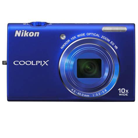 Nikon Refurbished Digital Happy by Nikon Coolpix S6200 Digital Blue 16mp 10x Optical