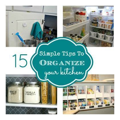 organize your kitchen with these 16 simple and cheap home design photos 15 simple tips to organize your