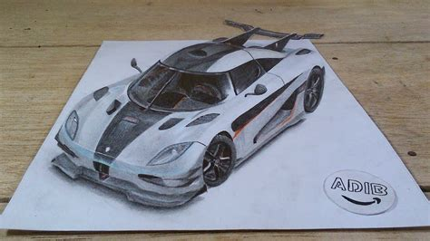 koenigsegg one drawing 3d drawing koenigsegg one lapse