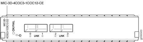 Juniper Multi Rate Sonet Sfp Channelized Oc3 Stm1 Multi Rate Circuit Emulation Mic