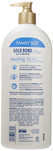 Ultimate Gold Detox 20 Oz Reviews by Gold Bond Ultimate Healing Skin Therapy Lotion Family Size