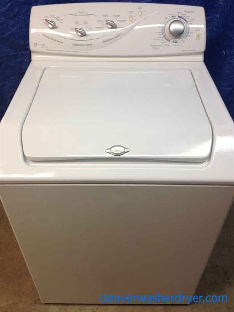 Maytag Washer Replacement by Maytag Atlantis Washer Manual Remove Agitator Hotpoint