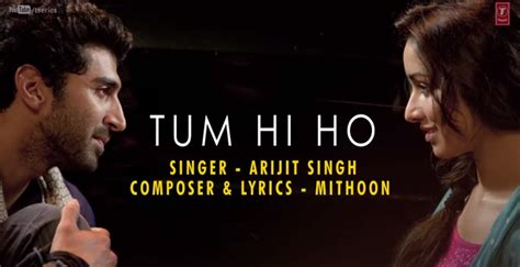 theme music aashiqui 2 tum hi ho lyrics song lyrics