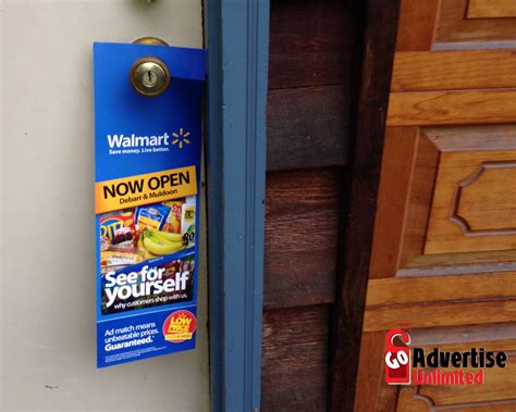 Door Knob Advertising by Nationwide Front Door Marketing Go Advertise Unlimited