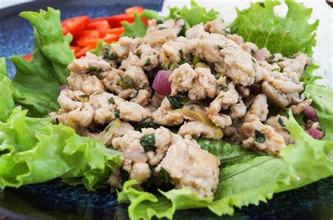 Laab Gai (Thai Minced Chicken)   Tara's Multicultural Table