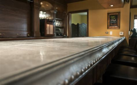 Zinc Bar Tops by Kitchen Counter Design Options Jackie Syvertsen