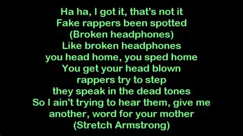 rap lyrics clean rap quotes quotesgram