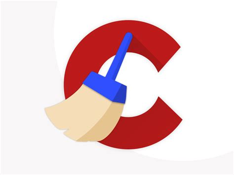 ccleaner logo ccleaner material design uplabs