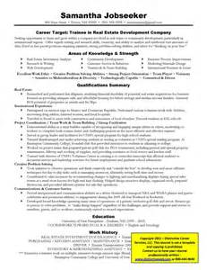 real estate administrative assistant resume sle