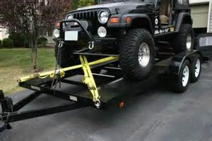 Can I Put Car Tires On Trailer Using Trailer Mounted Winch As Tie G503