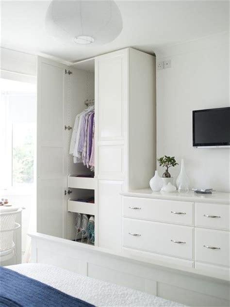 bedroom tv  wardrobe setup   home pinterest  depths alcove  bedroom wardrobe