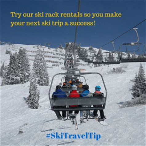 ski rack rental why you should rent from us and not a car rental ski rack