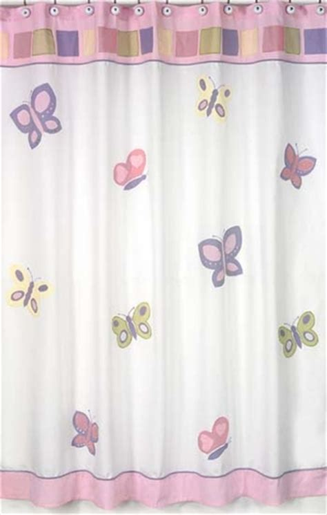 pink and purple bathroom pink and purple butterfly kids bathroom fabric bath shower curtain only 39 99