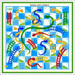 7 snakes and ladders board