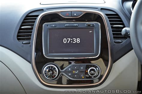 drive console renault captur test drive review centre console