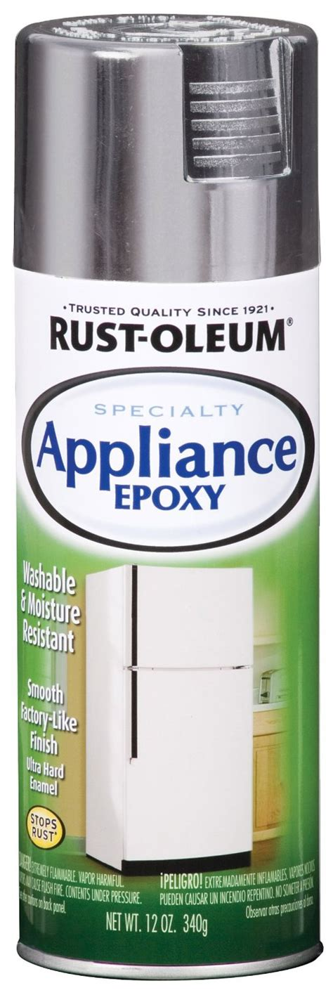 rust oleum 7887830 rust oleum appliance enamel 12 ounce spray stainless at thehardwarecity