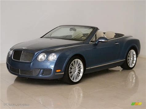 bentley blue color 2010 blue crystal bentley continental gtc speed 49855551
