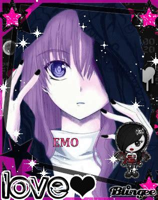 imagenes de anime emo girl emo anime girl picture 117684756 blingee com